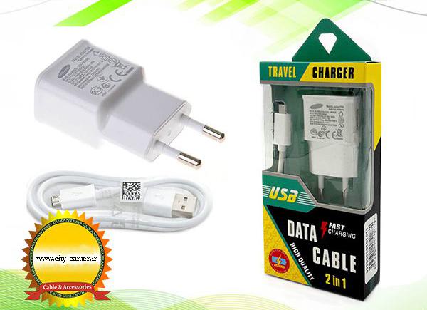 شارژر همراه با کابل Travel Charging Fast Charging